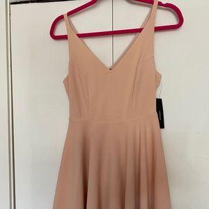 Blush NWT lulus mini dress